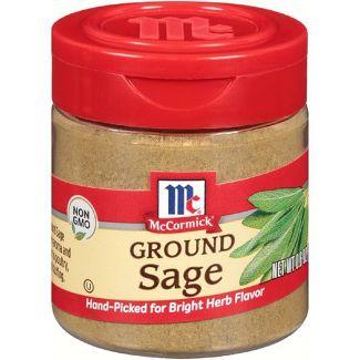 McCormick Ground Sage Spice - 0.6oz