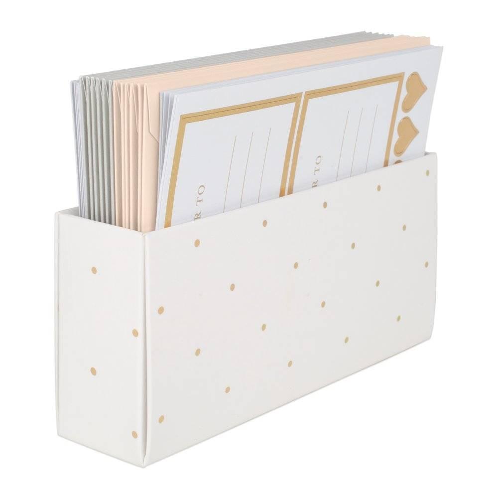 Image of 12ct Stationery Set - Pink & Gray - Sugar Paper Essentials