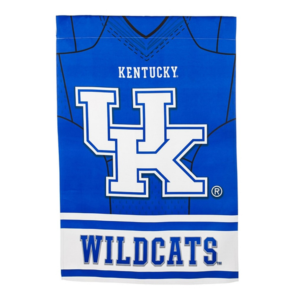 Kentucky Wildcats Two-Sided Jersey House Flag