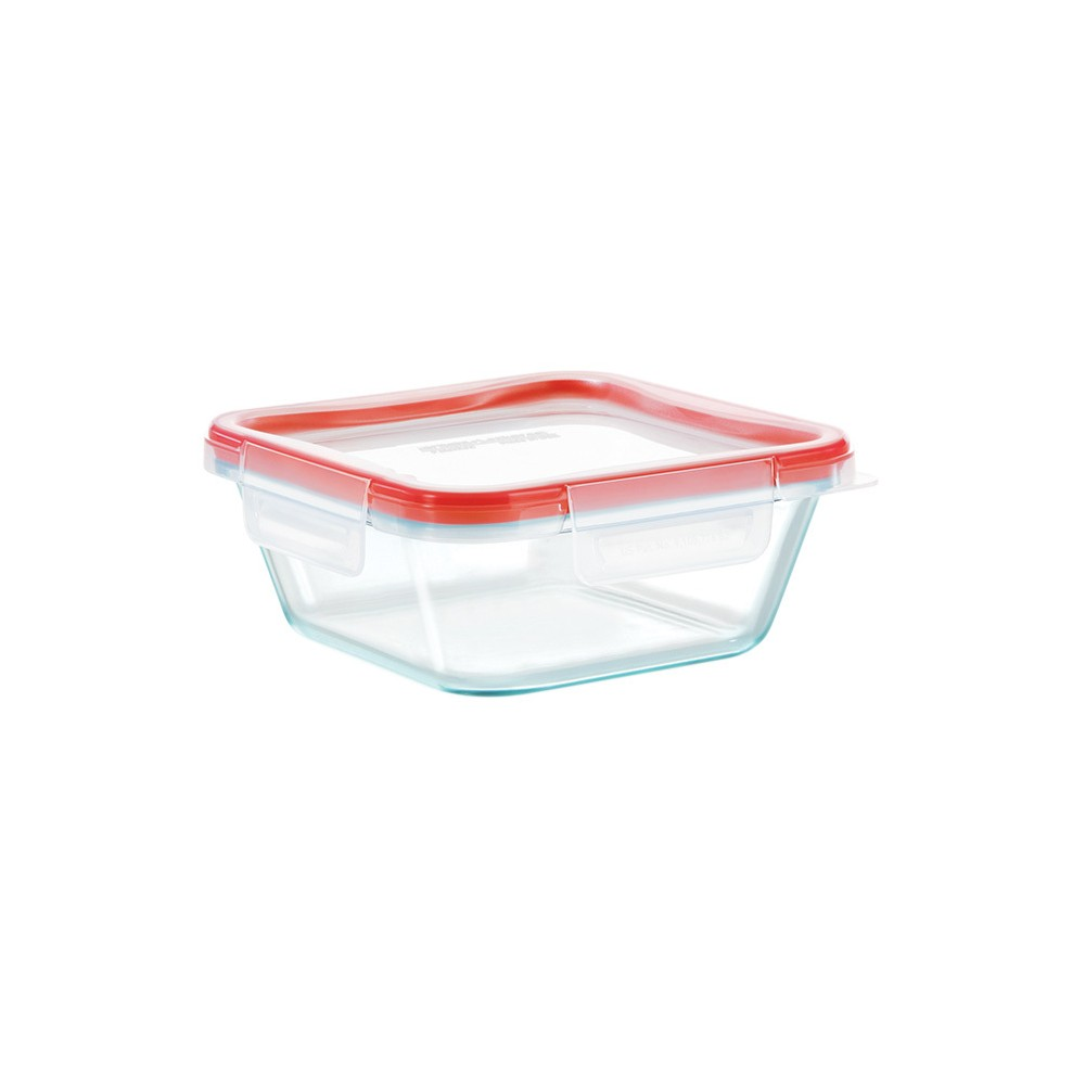 Pyrex 4 cup Food Storage Container, Clear