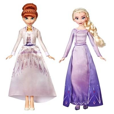 Disney Frozen 2 Anna and Elsa Fashion Doll Set