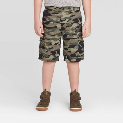 Wrangler Boys' Outdoor Cargo Shorts