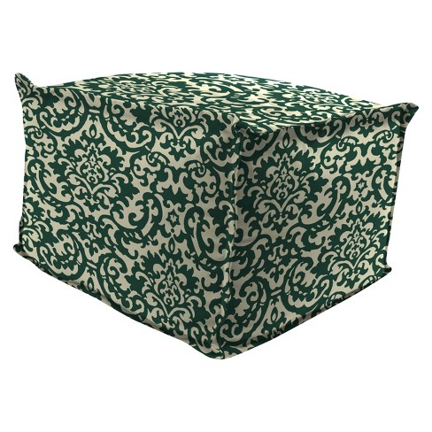 Outdoor Bean Filled Pouf/Ottoman In Duncan Hunter  - Jordan Manufacturing - image 1 of 1