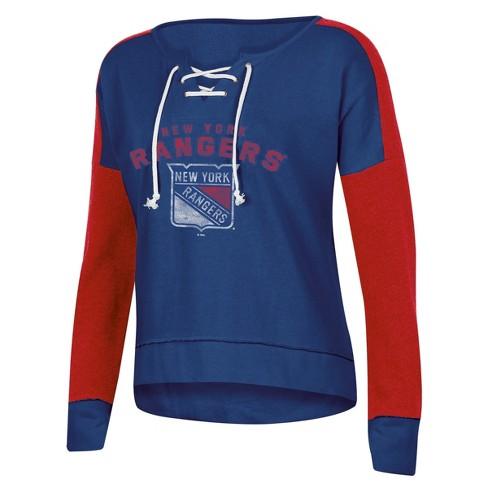 b3dd1e105 NHL New York Rangers Women s Warming House Open Nec   Target