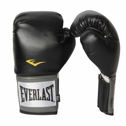 Everlast Pro Style Full Mesh Palm Training Boxing Gloves Size 16 Ounces, Black - image 1 of 3