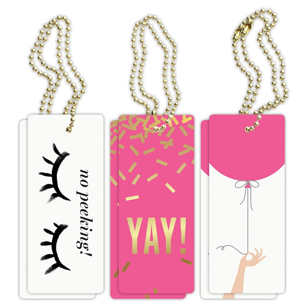 "Image of ""6ct """"Yay"""" Birthday Vol. 1 Luxe Tags"""