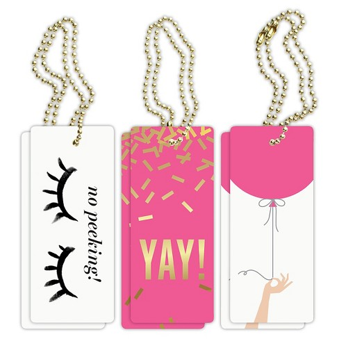 """6ct """"Yay"""" Birthday Vol. 1 Luxe Tags - image 1 of 4"""