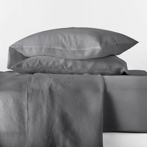 100% Linen Solid Sheet Set - Casaluna™ - image 1 of 2