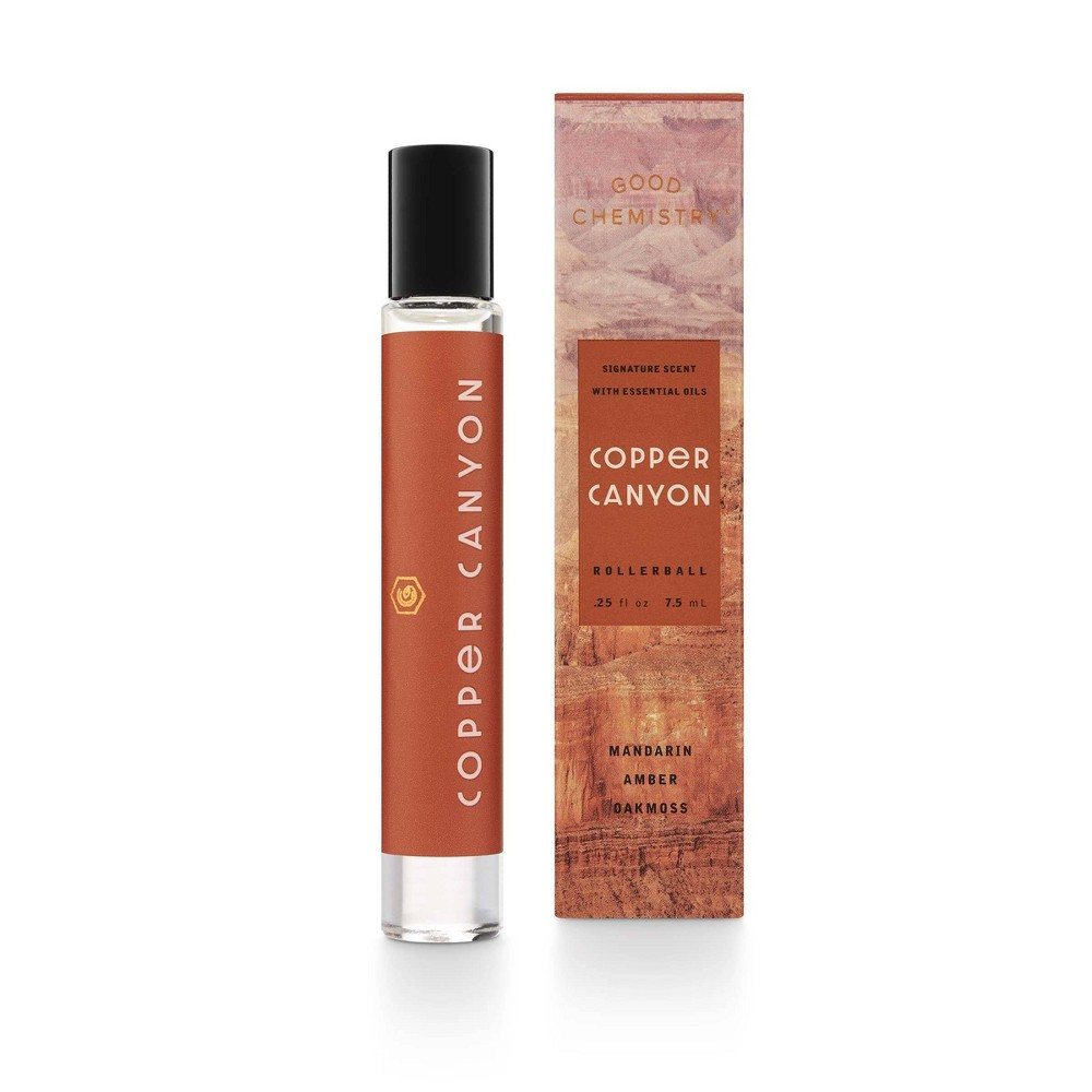 Image of Copper Canyon by Good Chemistry - Unisex Rollerball perfume - 0.25 fl oz