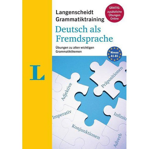 Langenscheidt Grammatiktraining Deutsch ALS Fremdsprache - Essential German  Grammar in Exercises (German
