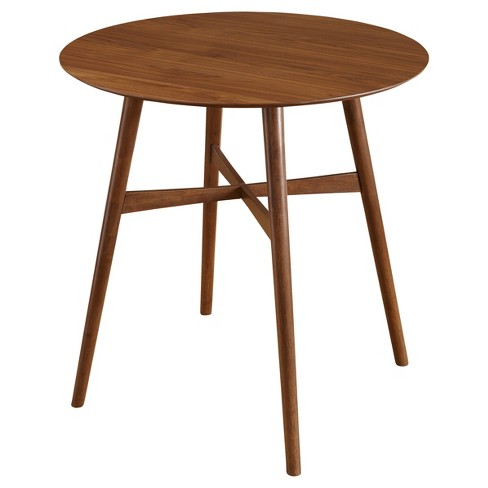 Mid Century Pub Table - Walnut - Target Marketing Systems - image 1 of 3