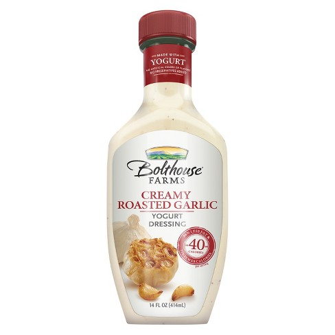 Bolthouse Farms Creamy Roasted Garlic Yogurt Dressing 14 oz - image 1 of 1