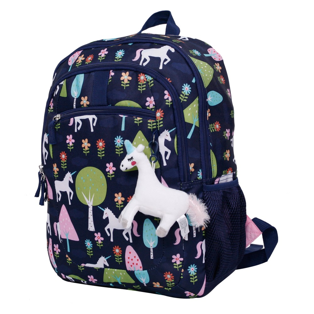 """Image of """"Crckt 16.5"""""""" Kids' Backpack - Unicorn, Girl's, Size: Small, Blue Pink White"""""""