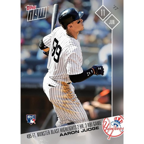 Mlb Ny Yankees Aaron Judge 238 Rc 2017 Topps Now Trading Card
