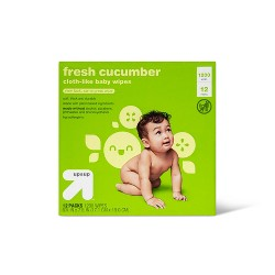 Fresh Cucumber Baby Wipes - Up&Up™ (Select Count)