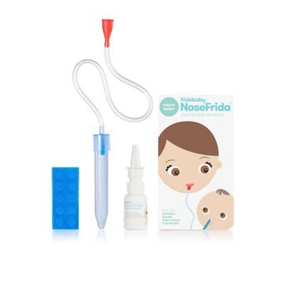 Fridababy Baby Nasal Aspirator NoseFrida The Snotsucker All-Natural Saline Nasal Spray