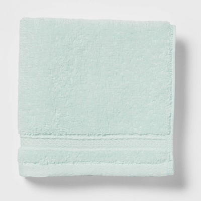 Perfectly Soft Solid Washcloth Mint Green - Opalhouse™