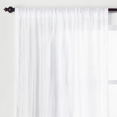 Crushed Sheer Curtain Panel Opalhouse