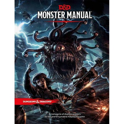 Dungeons & Dragons Monster Manual (Core Rulebook, D&d Roleplaying Game) - 5 Edition (Hardcover)