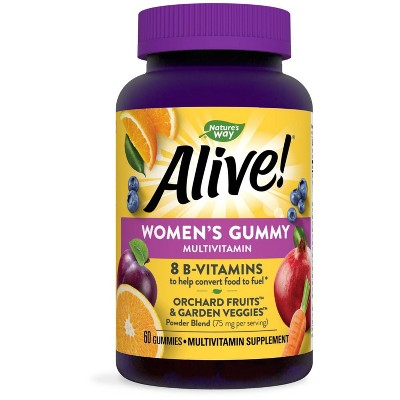 Nature's Way Alive! Women's Multivitamin Gummies - Fruit