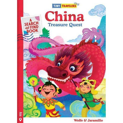 Tiny Travelers China Treasure Quest - by  Steven Wolfe Pereira & Susie Jaramillo (Board_book) - image 1 of 1