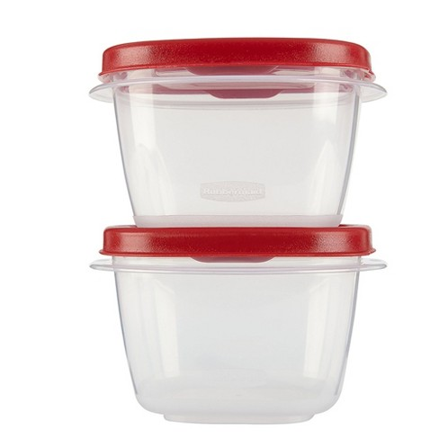 Rubbermaid 4pc 2 Cup Food Storage Container With Easy Find Lid Target