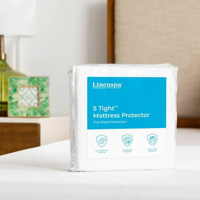 Essentials 5Tight Five-Sided Mattress Protector - Linenspa