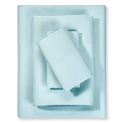 King Microfiber Sheet Set Aqua - Room Essentials™