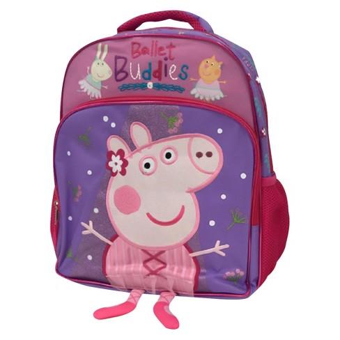 Peppa Pig 14 Ballet Buddies Kids Backpack Pink Target