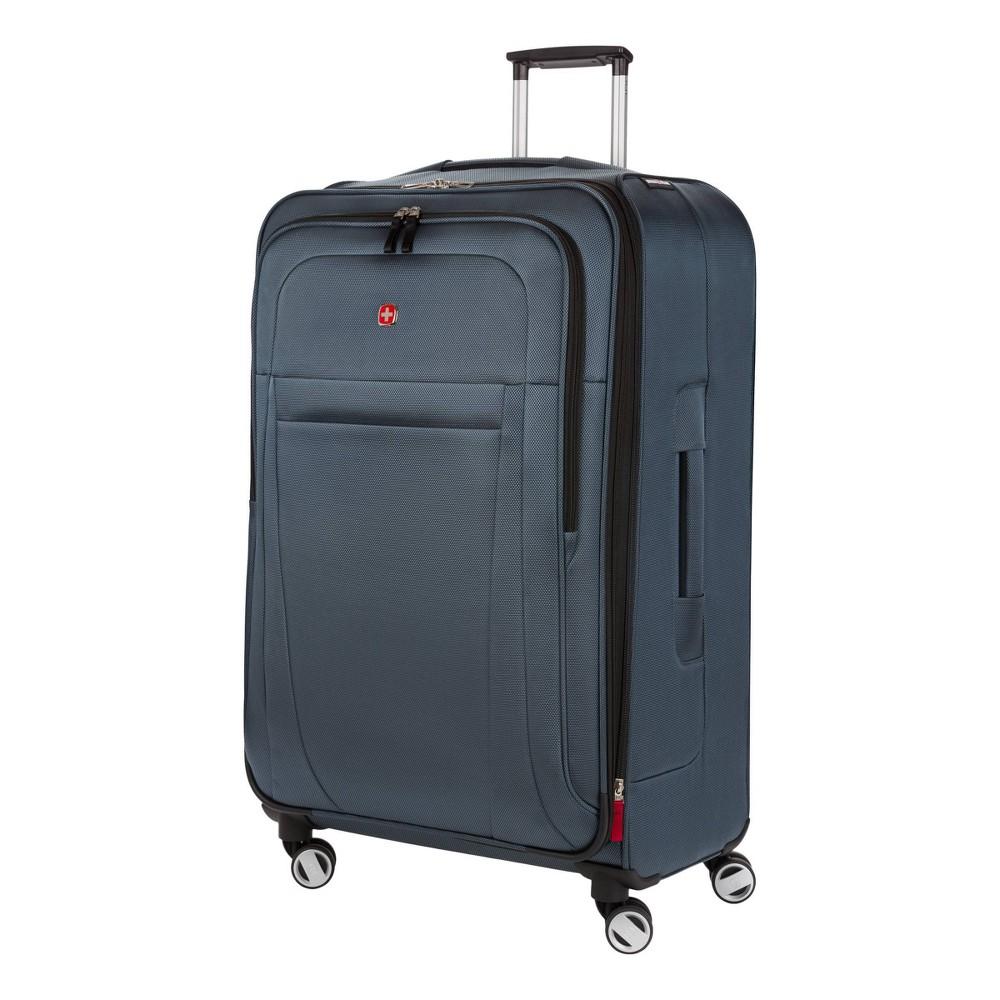 SWISSGEAR 29 Zurich Checked Suitcase - Blue, Gray was $139.99 now $69.99 (50.0% off)