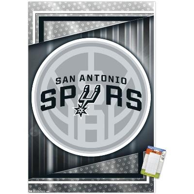 Trends International NBA San Antonio Spurs - Logo 17 Unframed Wall Poster Prints