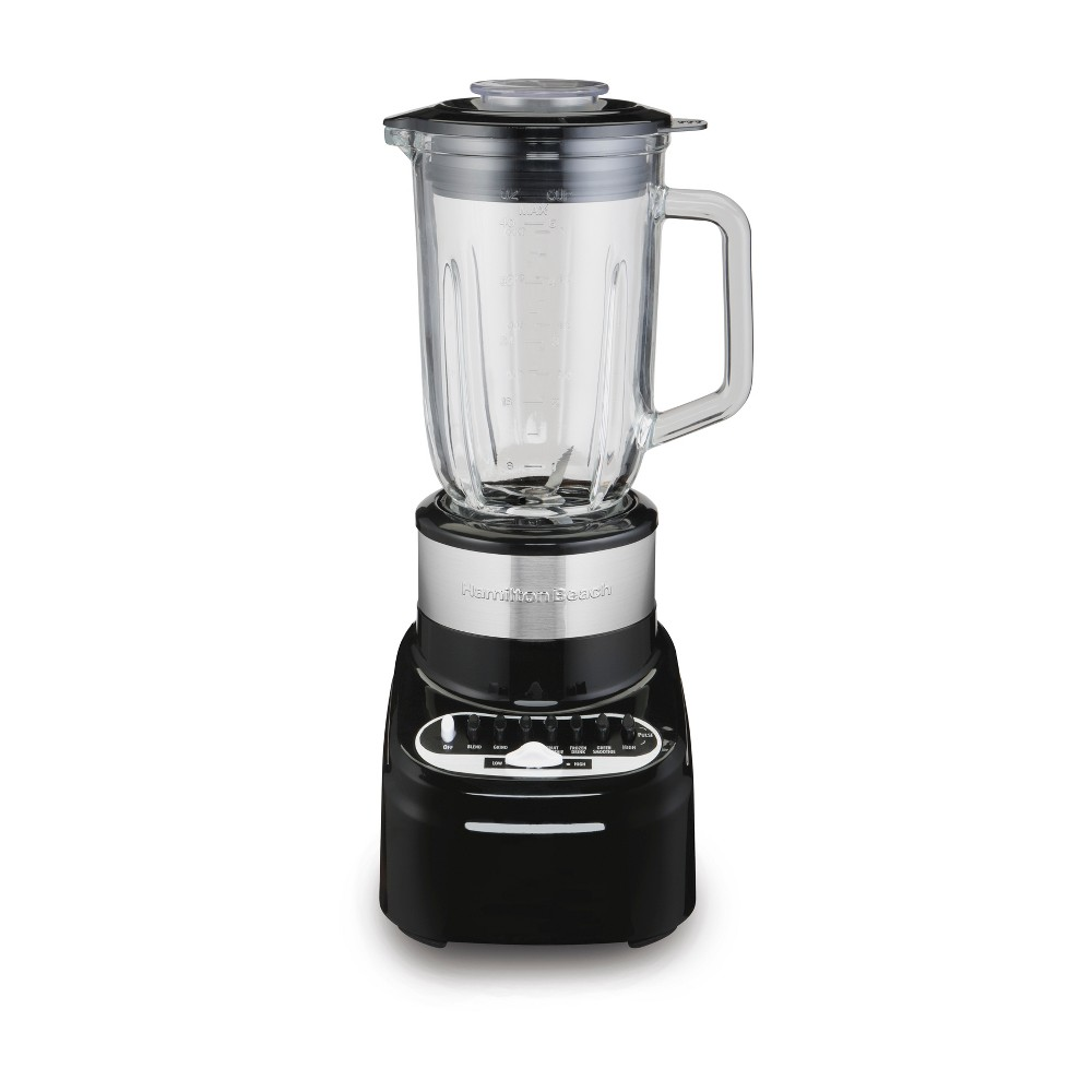 Hamilton Beach Glass Jar Blender Black – 54216 53751576