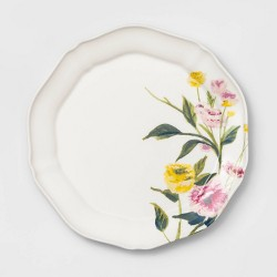 "9"" Melamine Floral Salad Plate - Threshold™"