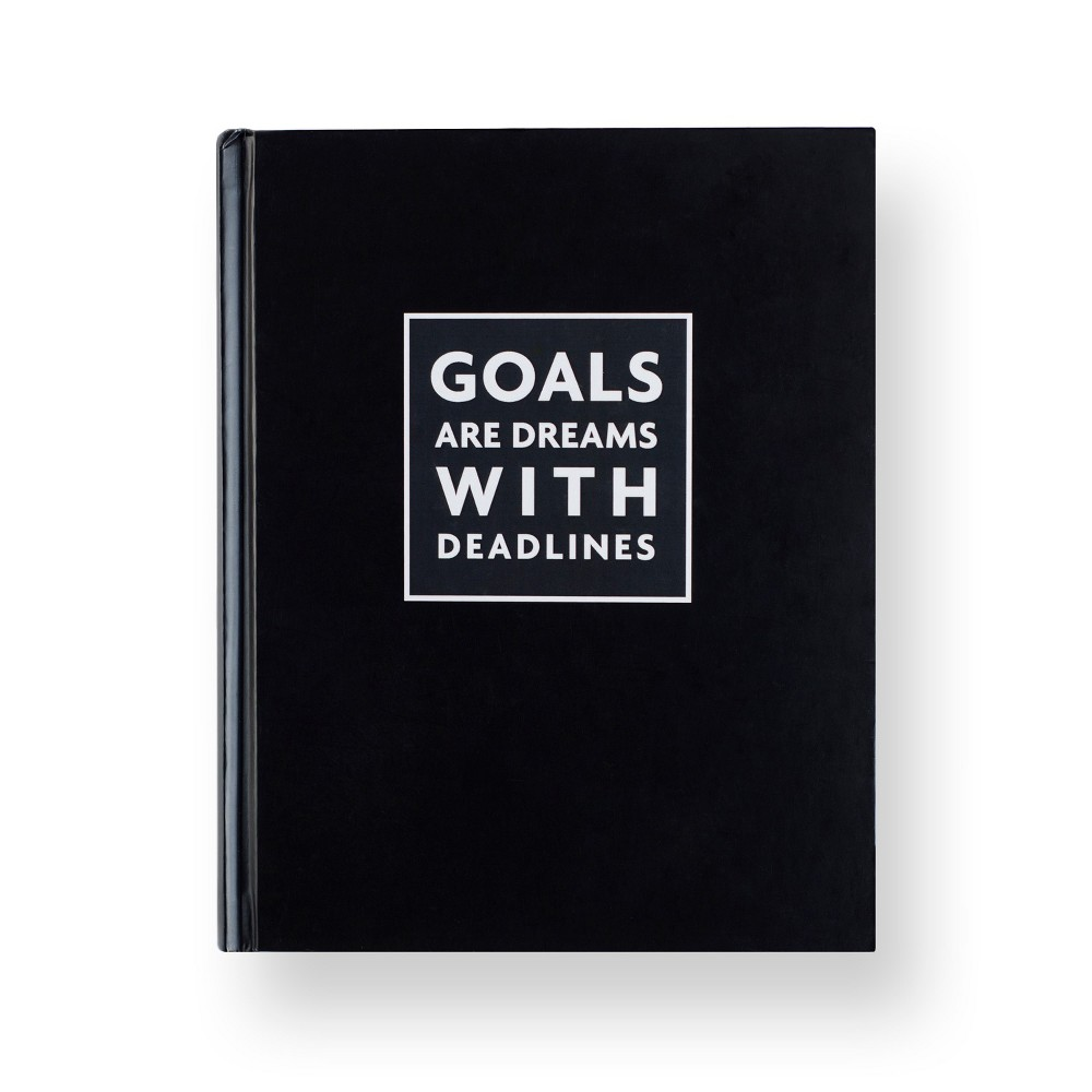 Fitspiration Journal Goals Are Dreams - Fitlosophy, Gray Complete your goals with this Fitspiration Journal from Fitlosophy. Designed to empower your mind, body and soul, this inspirational journal keeps health and wellness at the forefront of your mind with daily inspiration and tips to live life fit. As a combination between a fitness journal and a gratitude journal, it helps you reflect and encourages you to set goals, get inspired and think positively. Color: Gray. Pattern: Solid.