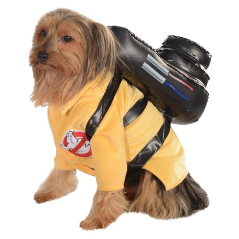 Ghost Busters Dog Costume - Yellow - image 1 of 1