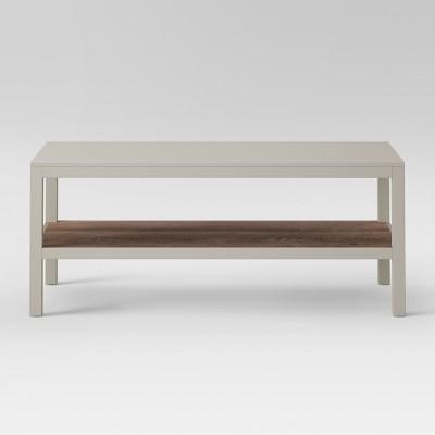 Hadley Coffee Table Gray - Threshold™