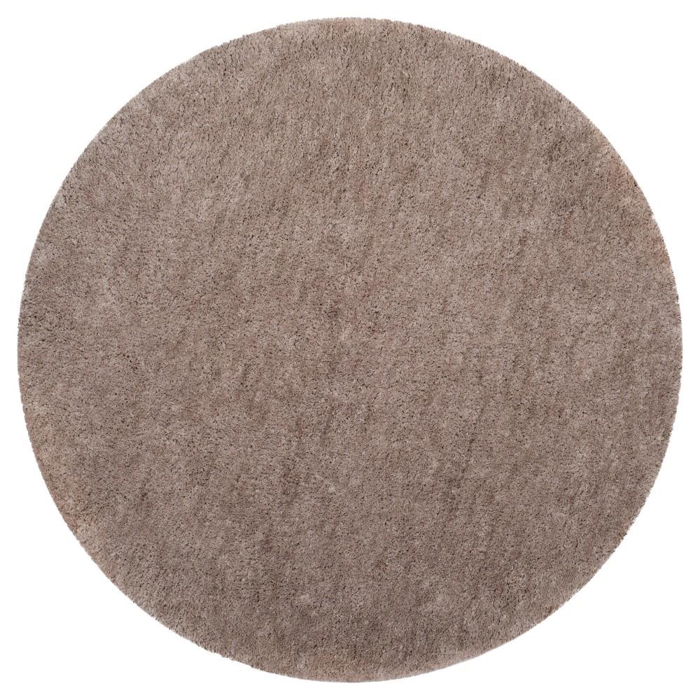 Silver Solid Tufted Round Area Rug - (6' Round) - Safavieh