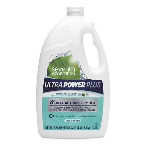Seventh Generation Ultra Power Plus Dishwasher Detergent Gel - 65 fl oz - image 1 of 4