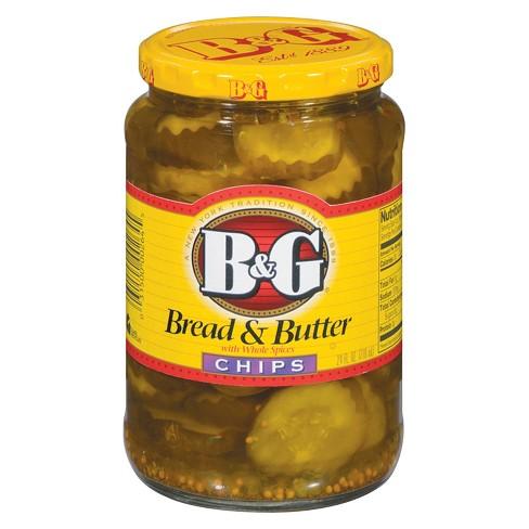 B&G Bread & Butter Pickle Chips - 24 fl oz - image 1 of 1