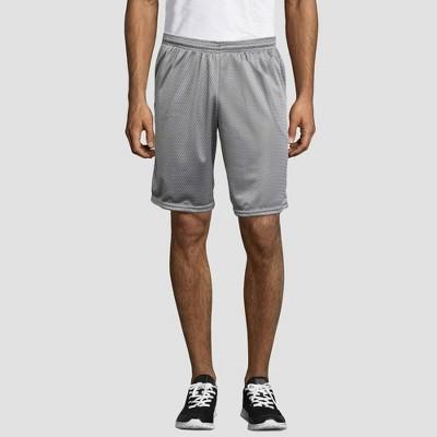 "Hanes Sport Men's 9"" Long Mesh Shorts"