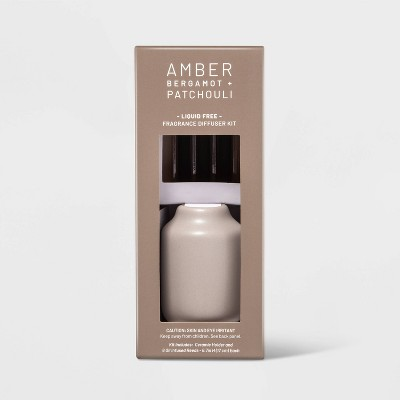 Liquidless Ceramic Diffuser Kit (with 6ct Amber Scented Reeds) - Project 62™