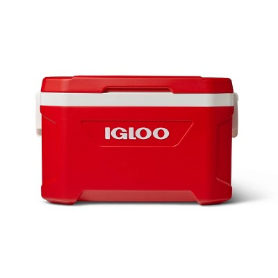 Igloo Latitude 52qt Portable Cooler - Red