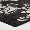 6' X 9' Medallion Outdoor Rug Charcoal - Opalhouse™ - image 2 of 4