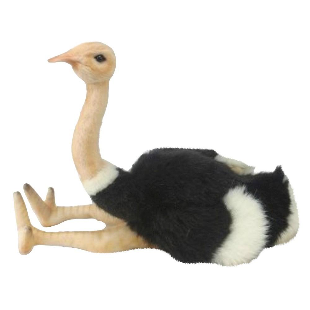 Hansa Handcrafted 8 Plush Ostrich