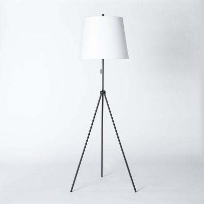 Metal Tripod Floor Lamp Black - Threshold™ designed with Studio McGee