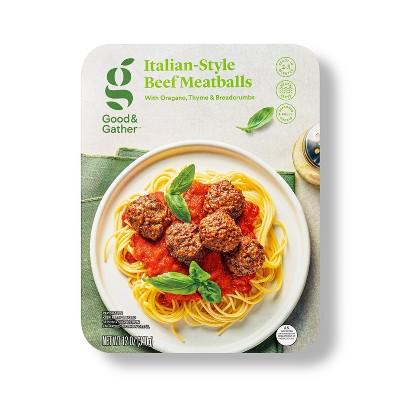 Italian Style Beef Meatballs - 12oz - Good & Gather™