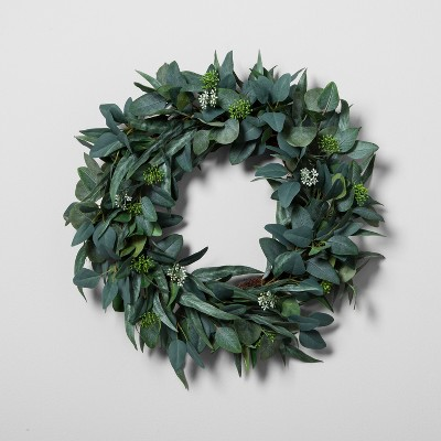 Eucalyptus Wreath (24 )- Hearth & Hand™ with Magnolia
