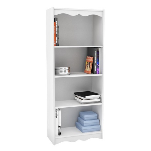 "48"" Hawthorn Tall Bookcase White - Corliving® - image 1 of 3"