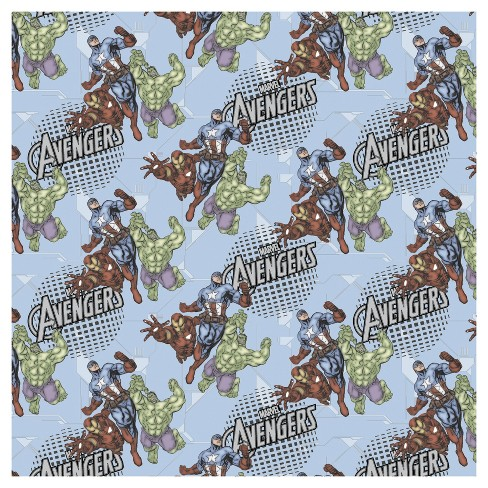Avengers Assemble Fabric by the Yard - image 1 of 1