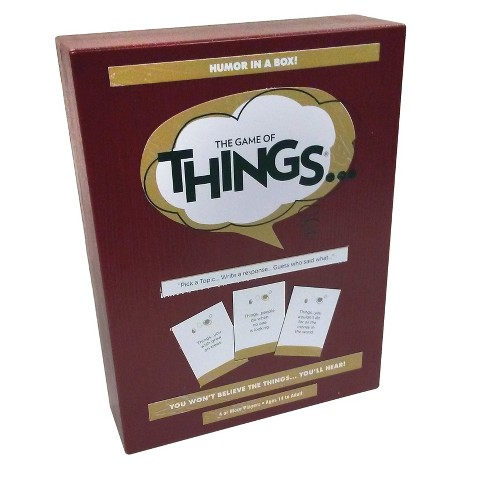 The Game Of Things Board Game - image 1 of 4